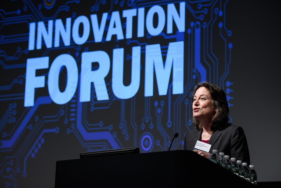 Emily Carter at Innivation Forum