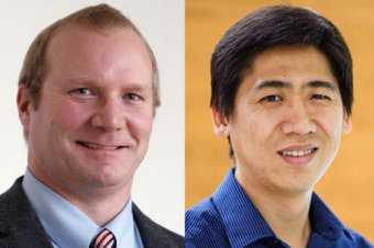 Mark Zondlo, associate professor of civil and environmental engineering, and Z. Jason Ren, professor of civil and environmental engineering and the Andlinger Center for Energy and the Environment