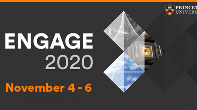Engage 2020, Princeton's first innovation and entrepreneurship conference