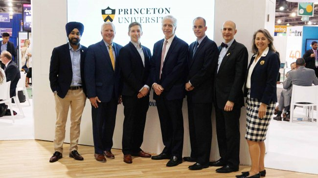 At the recent BIO International convention held in Philadelphia, Princeton University spinout company, Kayothera, and the New Jersey Health Foundation celebrated the Foundation's seed funding of the company.