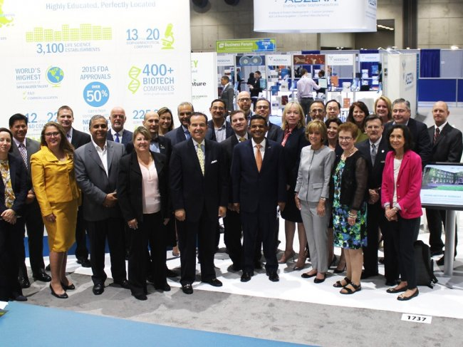 New Jersey delegation to BIO International Convention June 2017 in SanDiego