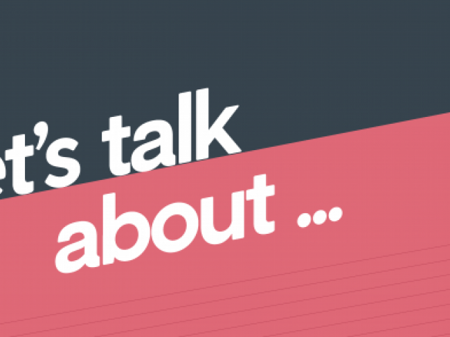 """Let's Talk About"" series by the PACE Center for Civic Engagement"