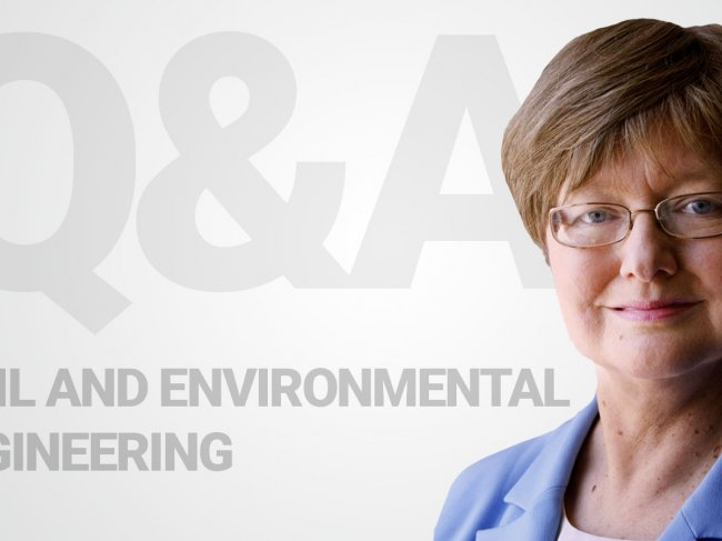 Catherine Peters, chair and professor of civil and environmental engineering, discusses the future of infrastructure, the urgency of integrating large-scale systems, and the skills students need to solve tomorrow's problems.