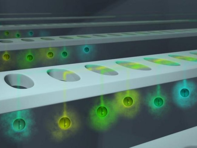 A device allowing researchers to design careful experiments with individual atoms