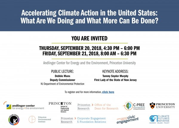 Andlinger Center Conference: Accelerating Climate Change in the US