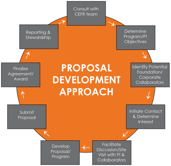 Proposal Development Approach Wheel