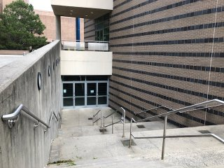 McDonnell Hall Side Stairs