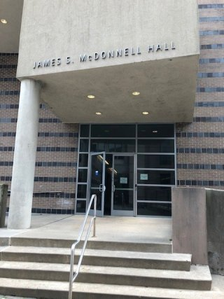 McDonnell Hall Main Entrance