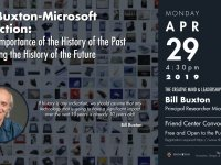Microsoft's Bill Buxton to speak April 29