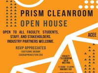 Join us at the PRISM Cleanroom Open House Nov 15 2018