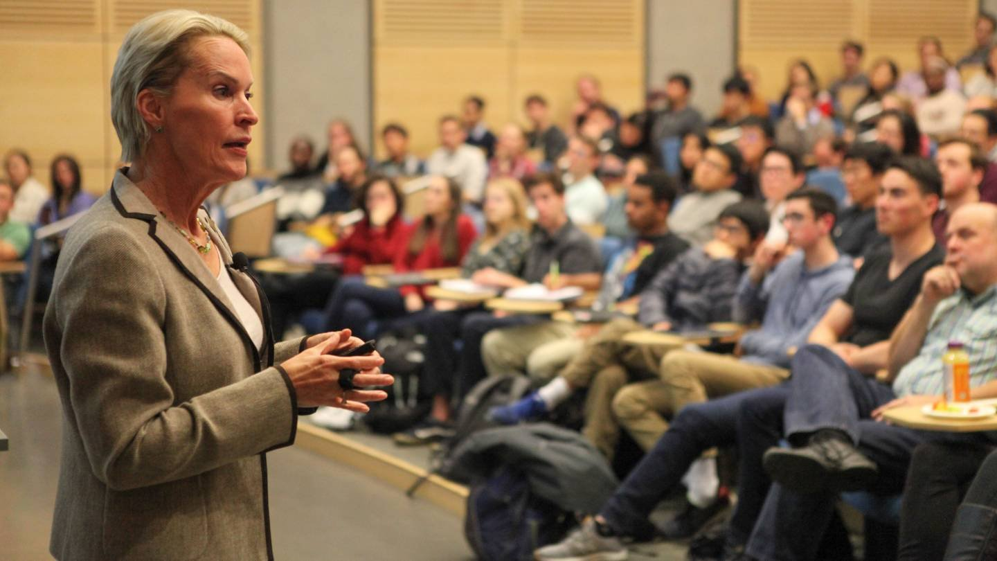 On Oct 26 Several Groups Of Princetonians Got To Sit Down With Frances Arnold The Class 1979 Who Won This Years Nobel Prize In Chemistry